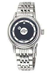 GV2 by Gevril Men's 4131B Girondolo Automatic Stainless Steel Bracelet Watch by GV2 by Gevril
