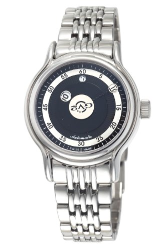 GV2 by Gevril Men's 4131B Girondolo Automatic Stainless Steel Bracelet Watch