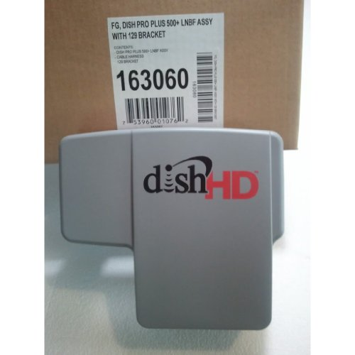 Read About NEW Style DISH NETWORK DPP 500+ LNB 118.7 118 500 Plus LNBF PRO PLUS JUST RELEASED