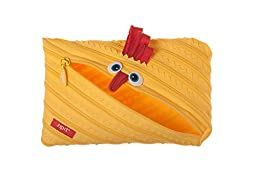 ZIPIT Animals Jumbo Pencil Case, Chicken