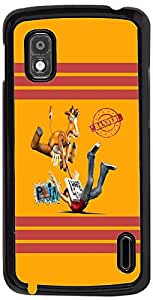 PrintVisa Cartoon Abstract Case Cover for LG Nexus 4