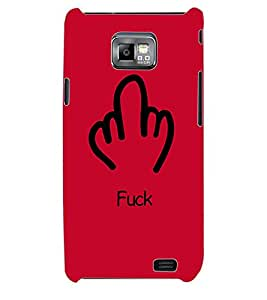 ColourCraft Printed Back Case Cover for SAMSUNG GALAXY S2 I9100