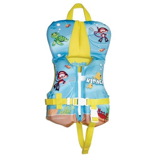 Kidder Infant Biolite Life Jacket, Blue Creatures
