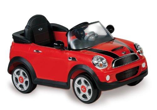 Rideable El.6V Biemme-Auto Mini Cooper rot c / RC 1022-R 101x60x53cm. günstig bestellen