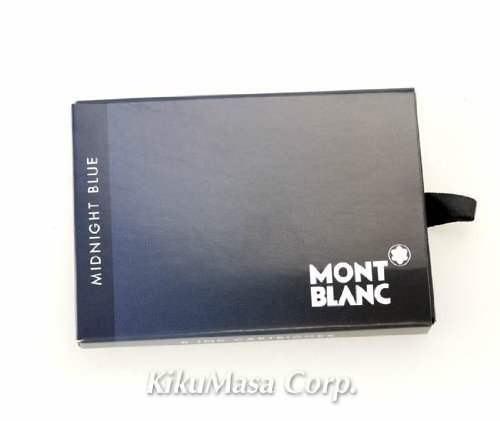 (���֥��) MONTBLANC ��ǯɮ�� �����ȥ�å� ���� 8������ �ߥ��ƥ꡼�֥�å� mon_cartridge8 �μ̿�