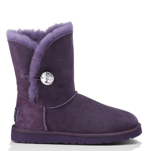 UGG Australia Womens Bailey Button Bling Boot