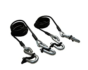 Blue Ox BX88196 Safety Cable Kit