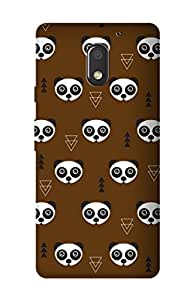 ZAPCASE PRINTED BACK COVER FOR MOTOROLA MOTO E3