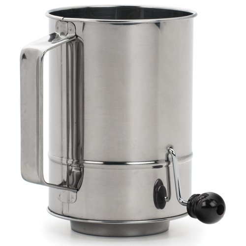 Rsvp Endurance Crank Style Flour Sifter 5 Cup S 233 Bastien
