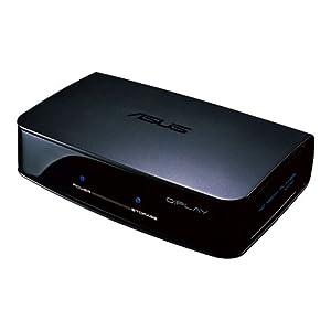Asus O!Play HDP-R1 Media Player, Full HD 1080p, E-Sata, USB 2.0, 10/100 LAN, HDMI 1.3, Fernbedienung, Schwarz