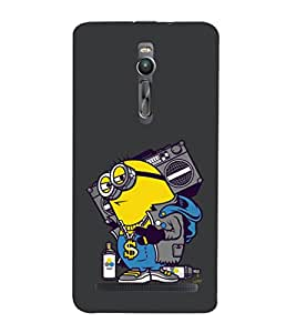 printtech Minions Swag Back Case Cover for Asus Zenfone 2::Asus Znfone 2 ZE550ML