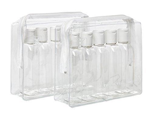 travel-essentials-juego-de-bolsas-de-viaje-2-unidades-incluye-10-botellas-de-100-ml-acabado-transpar