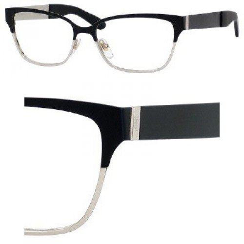 Yves Saint Laurent Eyeglasses Yves Saint Laurent 6345 0YYC Semi Matte Black