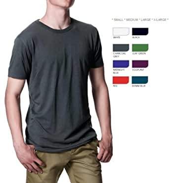 Studio 247 @ Royal T - Men's T-Shirt Bamboo Jersey - Leaf Green Size Small S