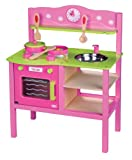 Lelin Wooden Wood My First Kitchen Cookery Cooker Oven Childrens Pretend Play