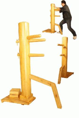 """55"""" Wing Chun Kung Fu Training Wooden Dummy"""