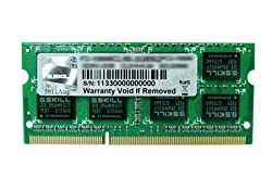 G.SKILL 4GB X 1 DDR3 1333MHZ CL9 VALUE RAM FOR LAPTOP