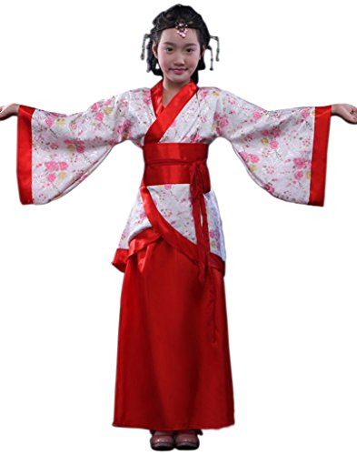 Chinese Ancient Costume Girls Princess Dress Halloween Cosplay HanFu