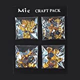 MIC Craft Pack Gem Stones Gold