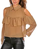 French Code Blusa Monia (Camel)