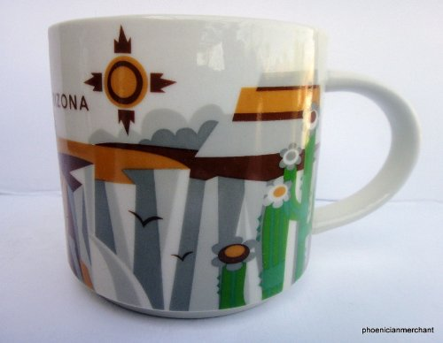 Arizona Starbucks Coffee Tea Mug You Are Here Collection