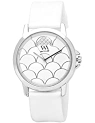 Watch Me White Rubber Analogue Watch For Women WMAL-092-W