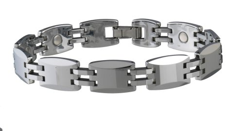 Sabona 35770 Tungsten Carbide Magnetic Bracelet, Medium
