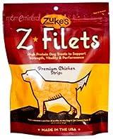 Z-Filets Dog Treats, Premium Chicken Strips, 3.25 oz (92 g) by Zuke's