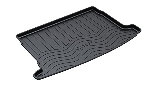 Vesul Rubber Rear Trunk Cover Cargo Liner Trunk Tray Floor Mat for VW Volkswagen Golf MK6 2009 2010 2011 2012 (Golf Cargo Cover compare prices)