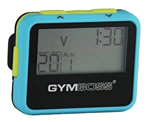 Amazon.com: Gymboss Interval Timer and Stopwatch - LIGHT BLUE / YELLOW