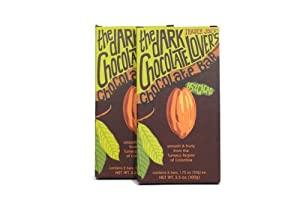 Trader Joe's The Dark Chocolate Lover's Chocolate Bar, 3.5 oz (Pack of 2)