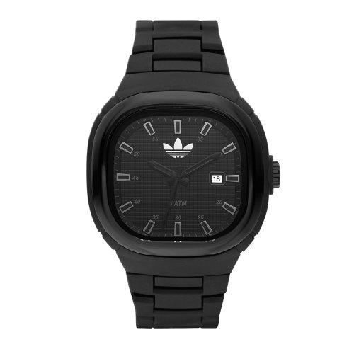 Adidas Unisex 47mm Black Analogue Seoul Watch Adh2580