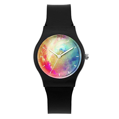 zeiger-montre-quartz-aiguilles-starry-night-multiclore-enseignant-enfant-fille-garcon-time-teacher-b