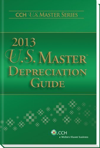 U.S. Master Depreciation Guide (2013) (Cch U.S. Master Series) by CCH Tax Law Editors published by CCH Inc. (2012) (Master Depreciation Guide compare prices)