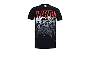 MARVEL Camiseta Manga Corta Collective (Negro)