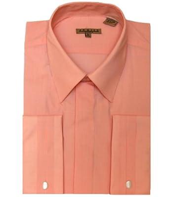 Men's Melon French Cuff Dress Shirt, 17 - 32/33