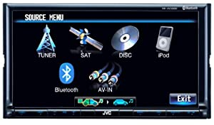 JVC KW-AVX830 7-Inch  Touch Panel Monitor