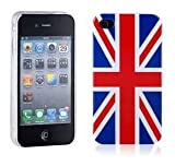Retro Phone Co®- High Gloss Finish iPhone 5/5S Union Jack Polycarbonate Armour Case/Cover