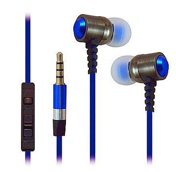 Super alta qualità in metallo con isolamento acustico, jack 3,5 mm, Stereo/cuffie/auricolari Auricolari per LG G Pad X 10,1 cm, colore: terracotta/ii/g4 Beat Bello V/2/Tribute G4c/2 G/Pad da 8,3/G, F/Escape/8,0/2/Ultimate Logo Lancet/2, colore: blu, Mic & Volume Control, con borsa per il trasporto