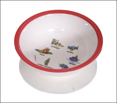 Baby Cie Melamine Suction Bowl Transportation Tranports fire engine red - Buy Baby Cie Melamine Suction Bowl Transportation Tranports fire engine red - Purchase Baby Cie Melamine Suction Bowl Transportation Tranports fire engine red (Baby Cie, Home & Garden, Categories, Kitchen & Dining, Tableware)