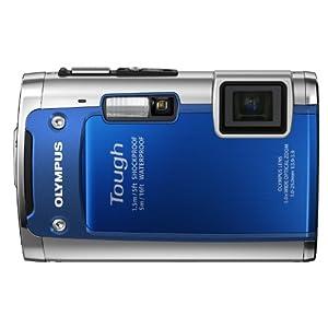 Olympus Tout Terrain TG-610 Appareil Photo Numérique 14 Mpix Zoom 5x Etanche Antichoc Bleu