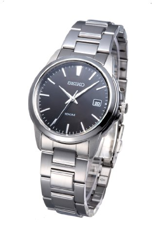 Seiko Men'S Sgef51 Stainless Steel Bracelet Watch