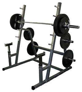 Valor Athletics BD-6 Safety Squat Bench Combo Rack by Valor