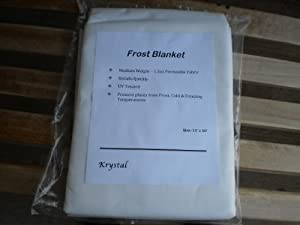 Frost Blanket for Plant Cover & Winter Protection 10'x12'