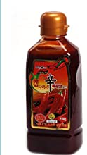 Korean FoodChungwooCapsaicin Sauce550gHot Spicy Dressing for Korean Meal Christmas Gifts