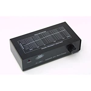 TCC TC-750LC BLACK Professional Moving Magnet Preamp