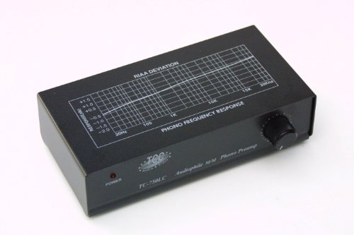 Review TCC TC-750LC BLACK Professional Moving Magnet Preamp