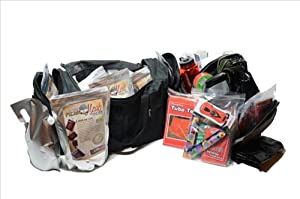Deluxe Emergency Survival Bug Out Bag - Hurricane, Flood, Earthquake, Tornado &... by Legacy Premium Food Storage