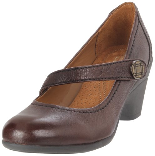 Naturalizer Women's Jansen Pump,Brown,7 M US