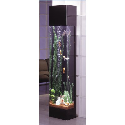 Bundle-04 Aqua 30 Gallon Tower Rectangle Aquarium Kit (2 Pieces) (30 Gallon Fish Tanks compare prices)